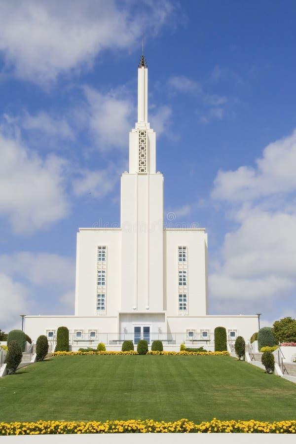 Mormon Te de Hamilton Nova Zelândia imagens de stock