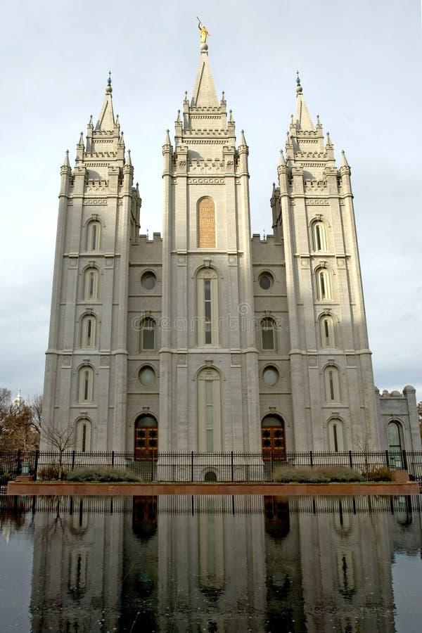 Mormon temple stock images
