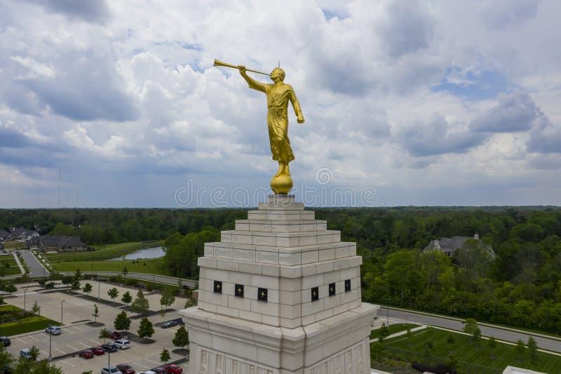 Mormonischer Tempel Indianapolis, Indiana Indianapolis stockbild