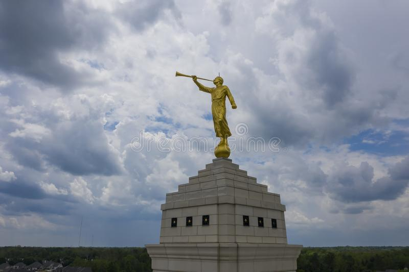 Mormonischer Tempel Indianapolis, Indiana Indianapolis stockfotografie
