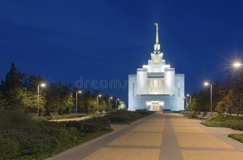Mormonkyrka i Kiev royaltyfri fotografi