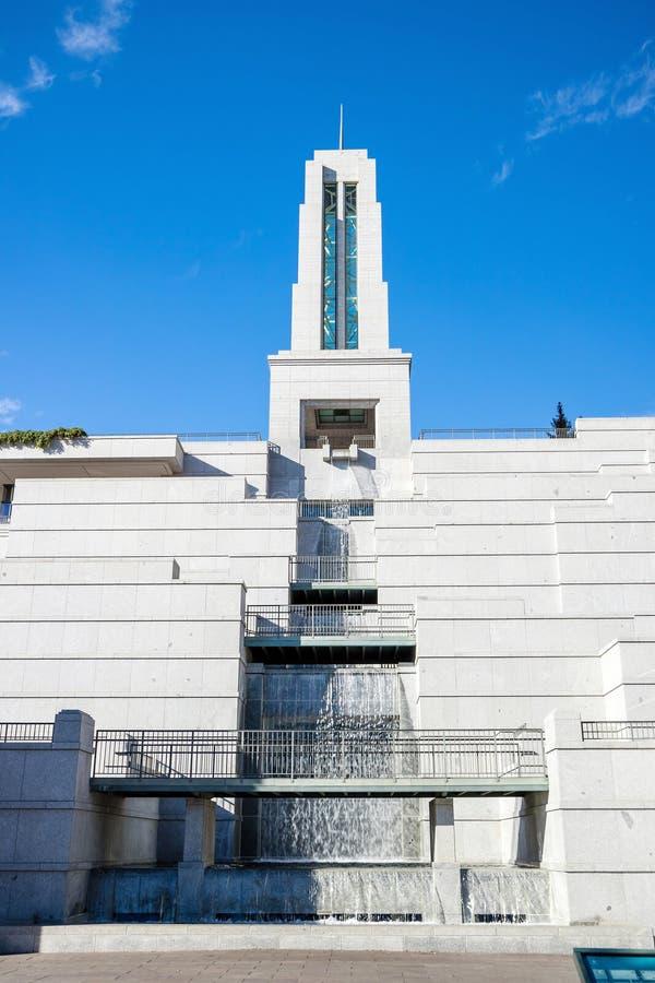 Mormoonse Kerk van Jesus Christ van de conferentiece van laatstgenoemde-Dagheiligen stock foto