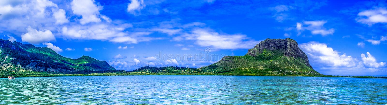 Morne d'Au photographie stock