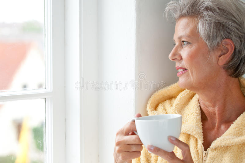 In the morning stock photography