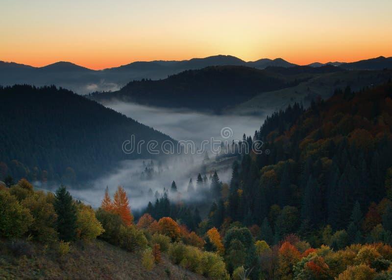 Morning Autumn royalty free stock photography