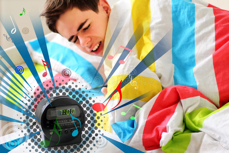 Morning Awaking stock image