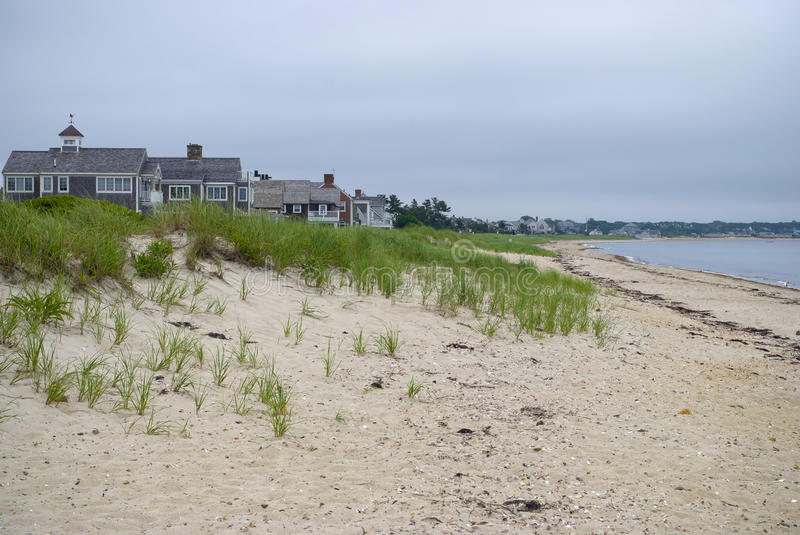 Download Morning Beach, Cape Cod stock image. Image of ocean, homes - 22960209