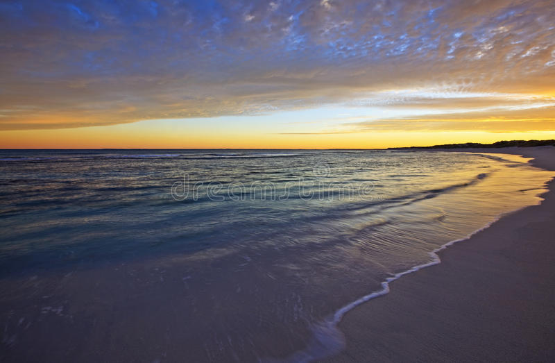 Download Morning Beach Wash 1 Royalty Free Stock Images - Image: 12627439