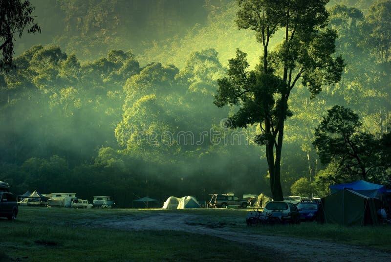 Coastline Australia. Morning at the Blue Mountains Coastline Australia royalty free stock images