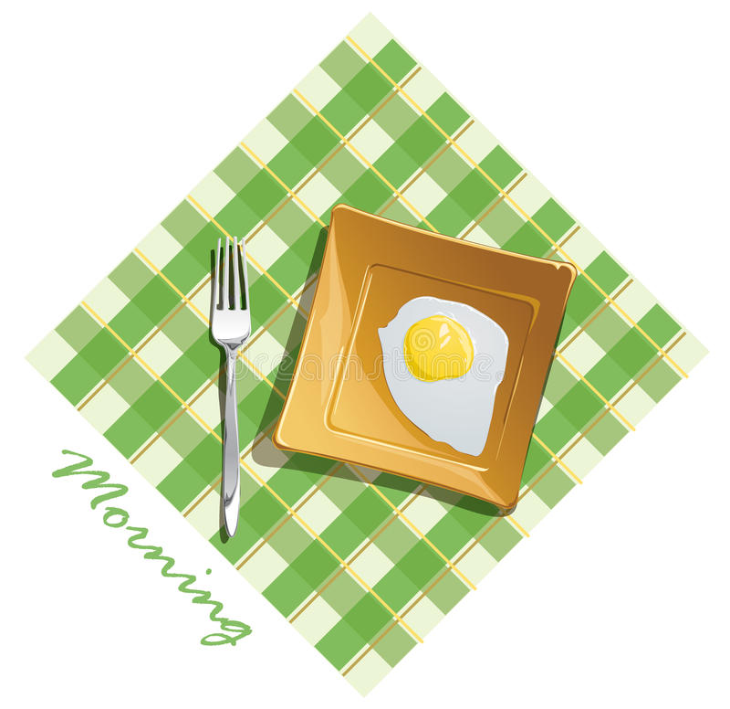 Download Morning breakfast stock vector. Image of grease, nutrition - 20190463