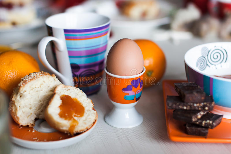 Download Morning Breakfast Stand For Eggs Stock Image - Image: 28758955