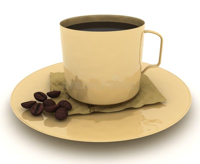 Morning Coffee vector illustration