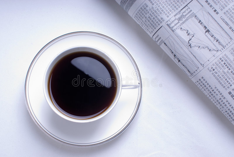 Download Morning Coffee stock photo. Image of light, culture, chocolate - 8745438