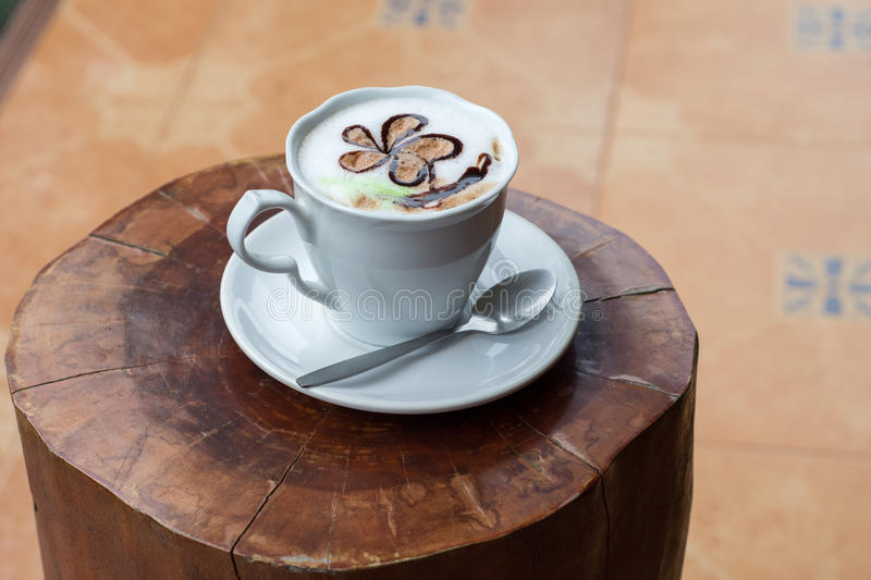 Download Morning coffee cup stock image. Image of spoon, ceramic - 83716095