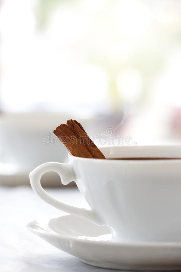 Download Morning Coffee In White Mood Stock Image - Image: 13280779