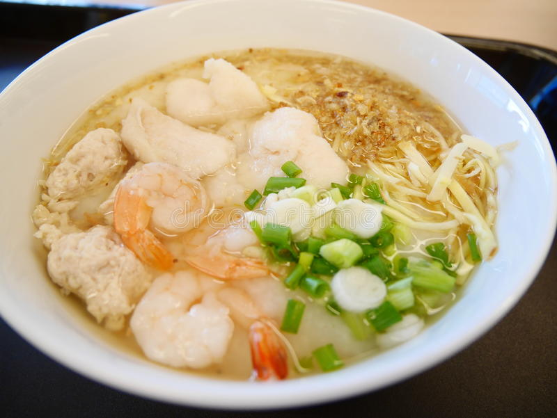 Morning Congee stock images