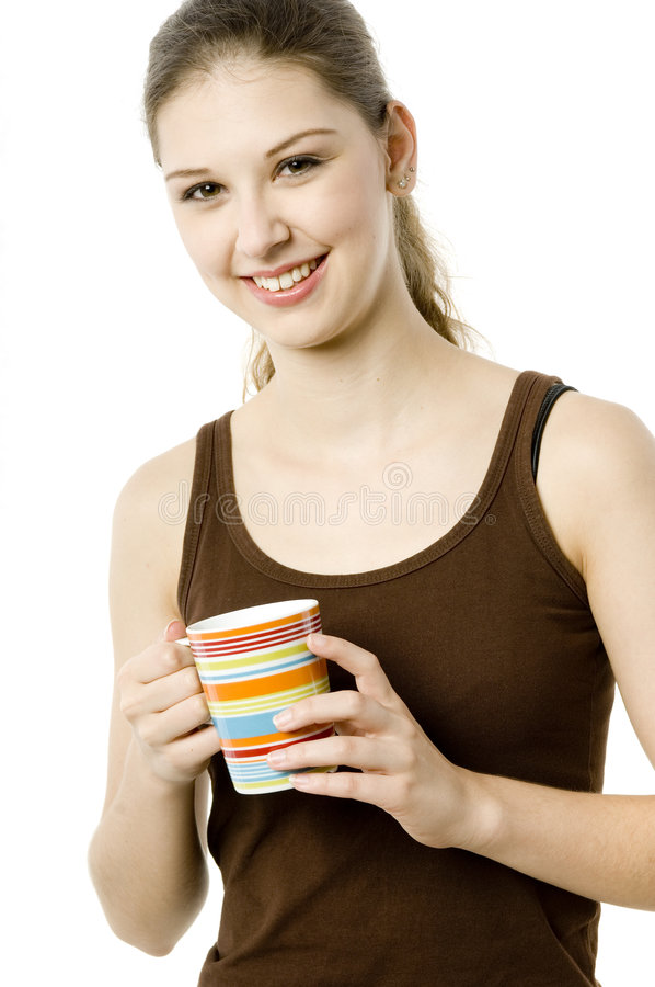Morning Drink stock image
