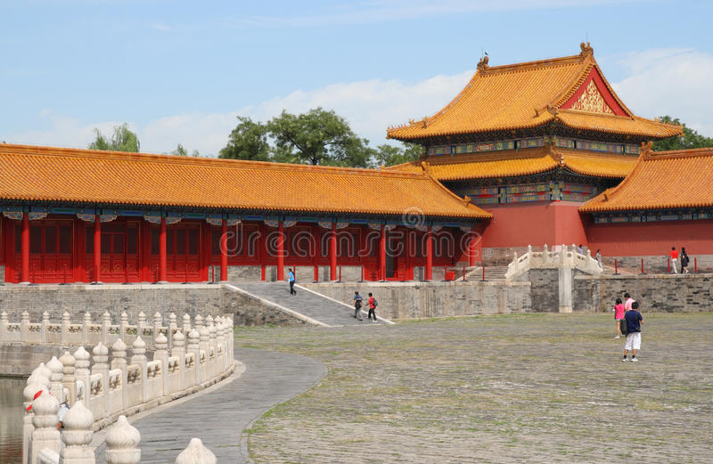 Download Morning In Forbidden City 4 Stock Image - Image: 10684019