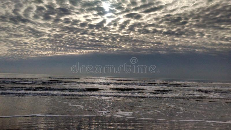Morning Glory. Morning Skies, CC, Tx (N Padre Island stock photography