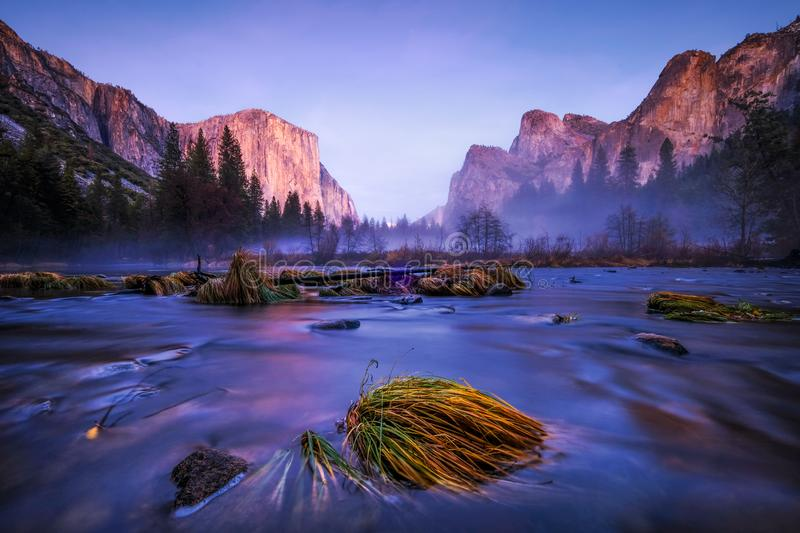 Download Before the dark come stock image. Image of yosemite - 109624409