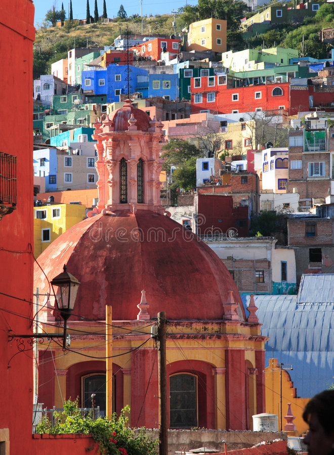 Morning of Guanajuato royalty free stock photography