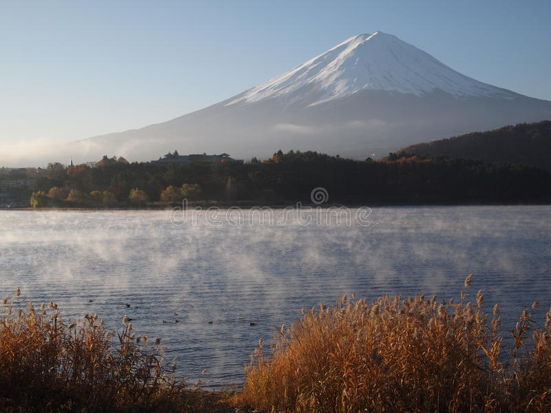 Morning haze and Mount Fuji