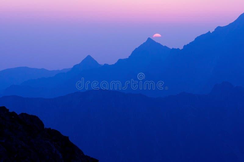 Morning in High Tatras, Slovakia stock image