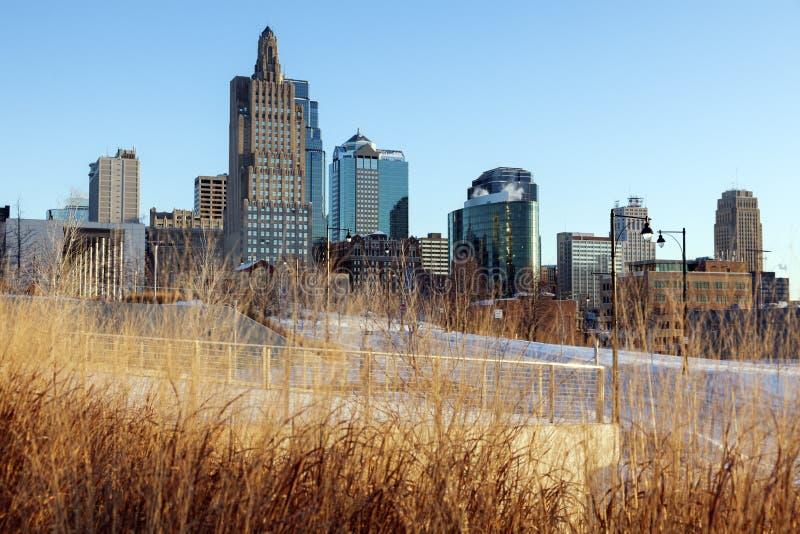 Morning in Kansas City. Winter morning in Kansas City, Missouri, USA stock image