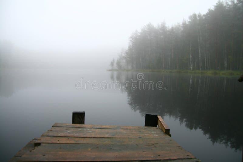 Morning lake royalty free stock photos