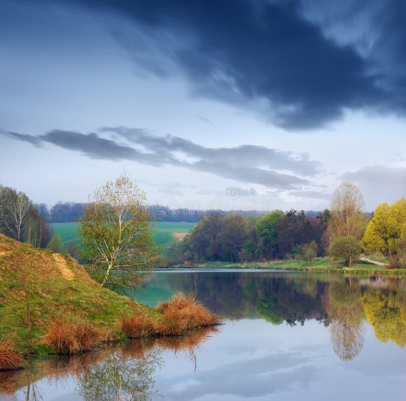 Morning landscape royalty free stock photography