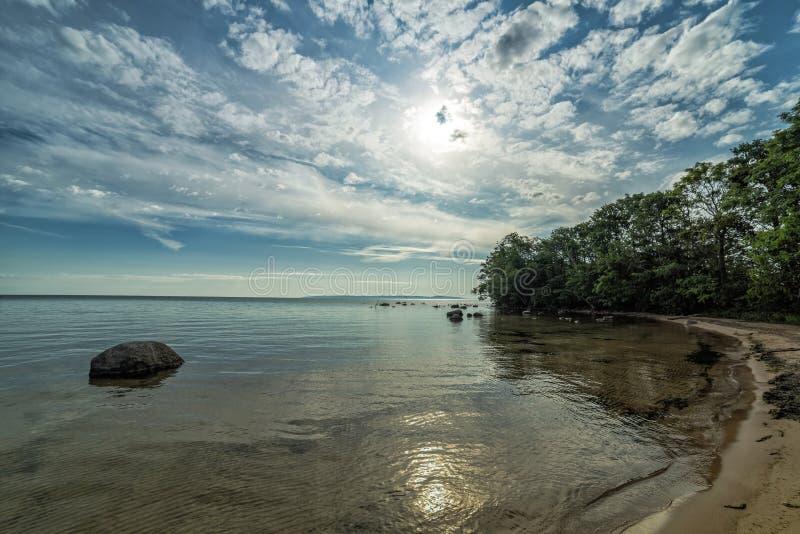 Morning landscape scenery stock photography