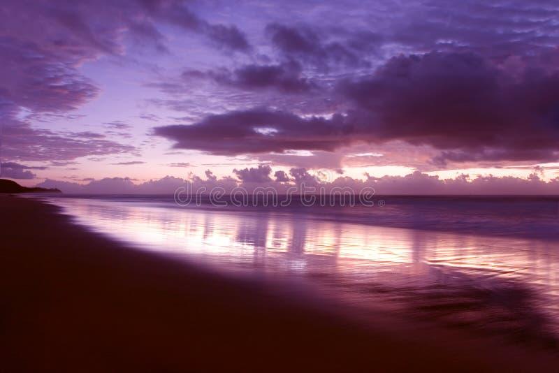 Morning Light. Sunrise @ Noosa Beach, Australia royalty free stock image