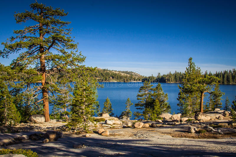 Morning Light Silver Lake California royalty free stock images