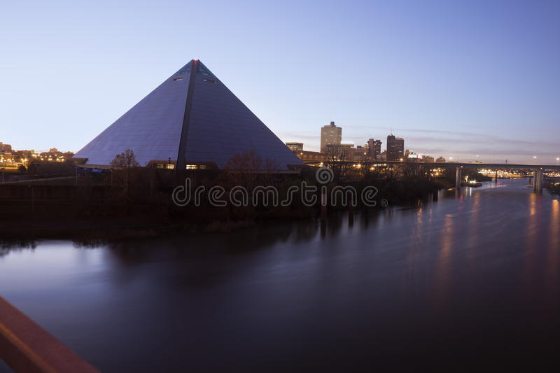 Morning in Memphis royalty free stock photography