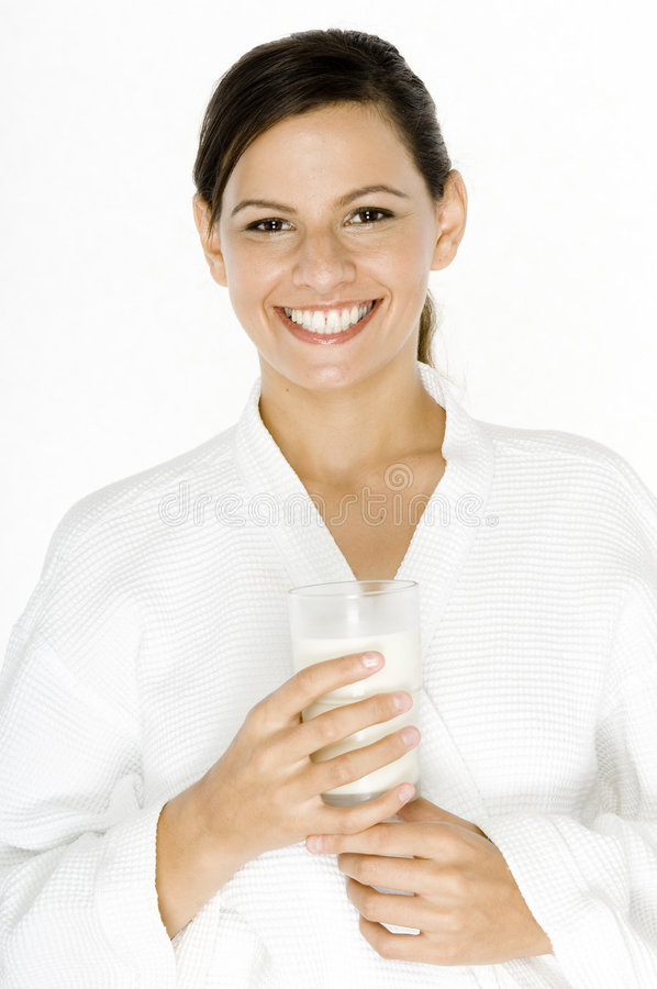 Morning Milk royalty free stock photo