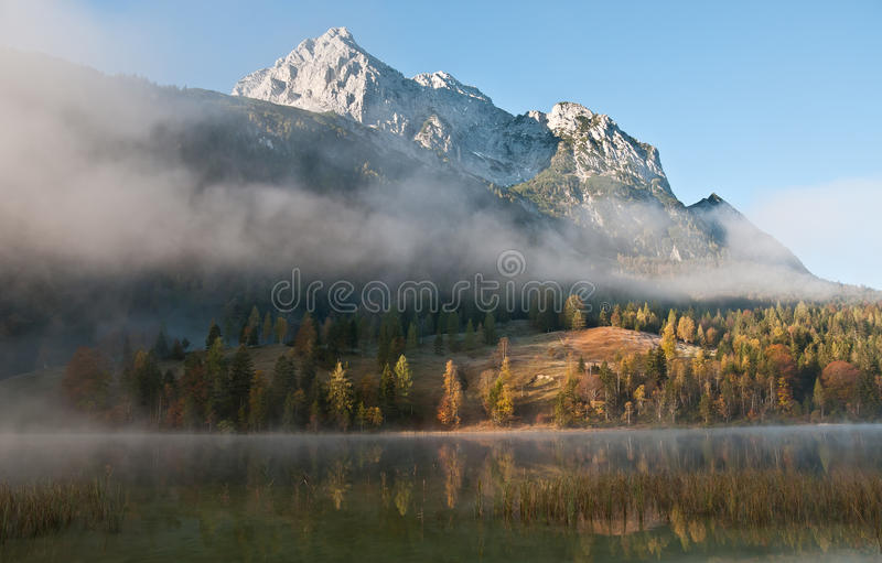 Download Morning Mist In Bavarian Alps Royalty Free Stock Photo - Image: 21699975
