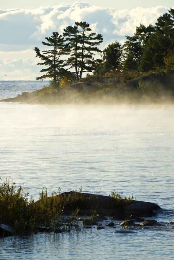 Download Morning Mist on the Lake stock image. Image of mist, killarney - 11030975