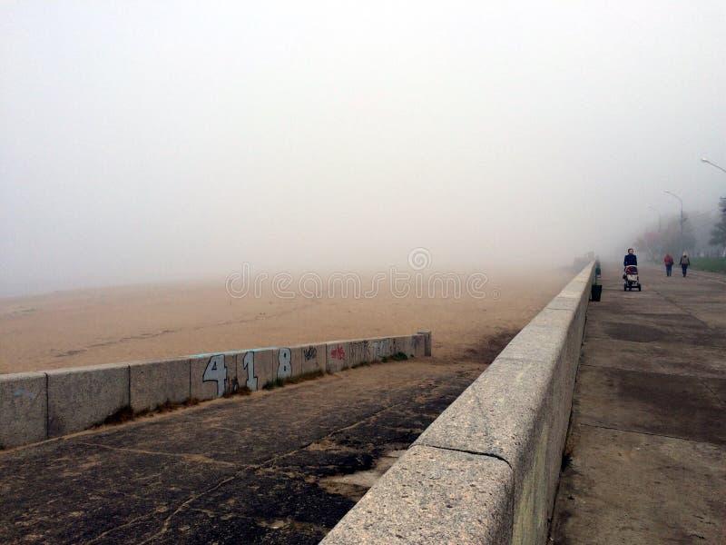 Morning mist stock photos