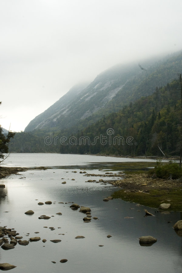 Free Morning Mist On Mountain Side Royalty Free Stock Images - 7086859