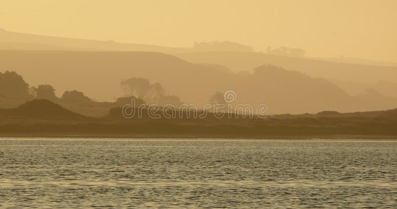 Download Morning Mist At Point Reyes Stock Photo - Image: 3494074
