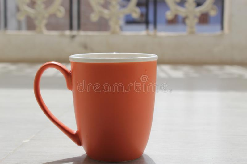 Morning. Monday sucks but coffee is love royalty free stock image