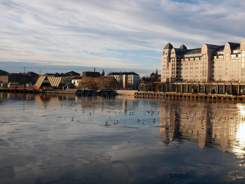 Morning in Oslo royalty free stock images