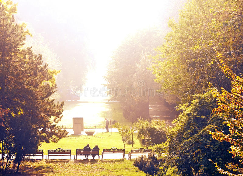 Download Morning In The Park Stock Photo - Image: 28548440