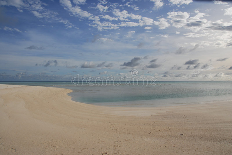 Download Morning on a plait-2 stock image. Image of deserted, island - 7665755