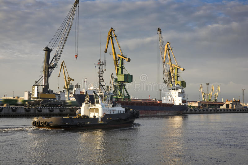 Download Morning in port stock photo. Image of transport, port - 31426036