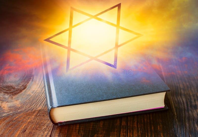 Morning Prayer . Jewish prayer book . vector illustration