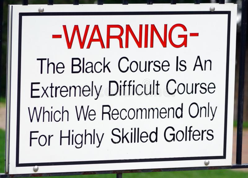Bethpage Black Golf Course. In preparation for the upcoming 2019 Players Championship to be hosted by  the Bethpage Black Course.  As of now Tiger Woods is the stock photos