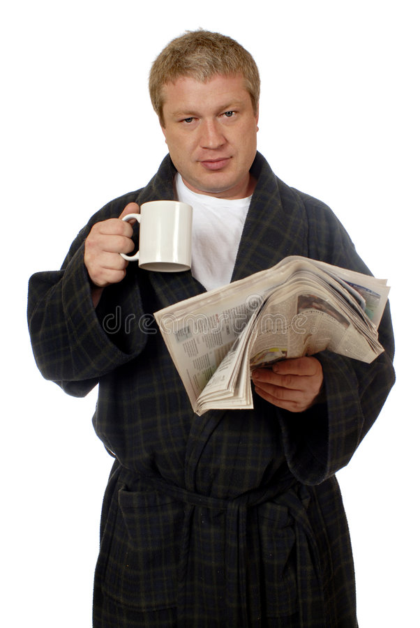 The Morning Routine stock photo