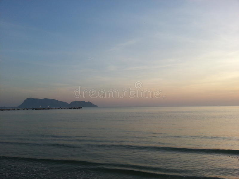 Download The Morning Sea stock photo. Image of thailand, morning - 83704072