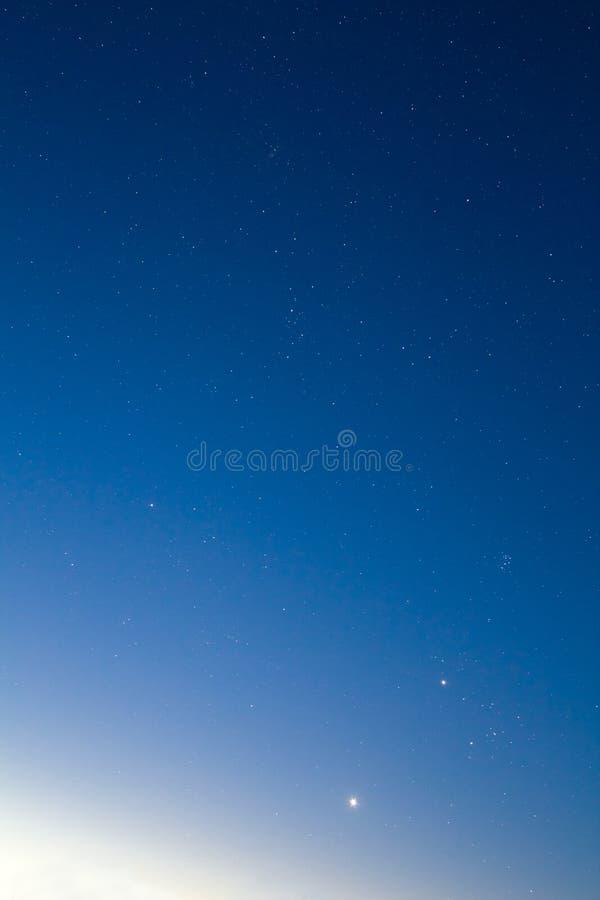 Morning Sky Background Stock Image